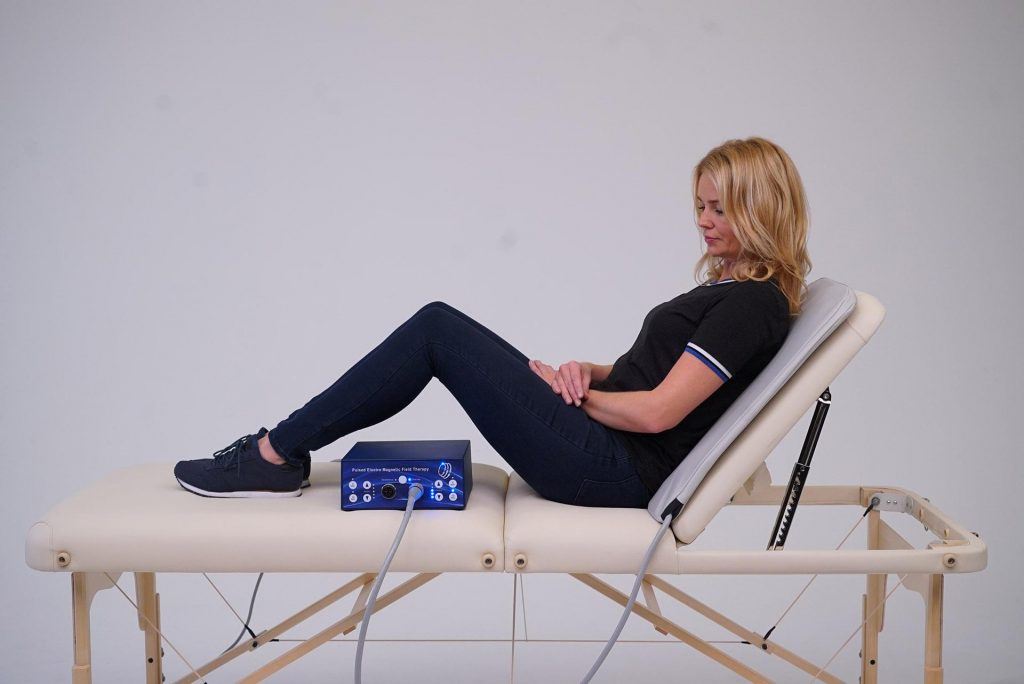 PEMF therapy Mat TeslaFit Duo Back Treatment