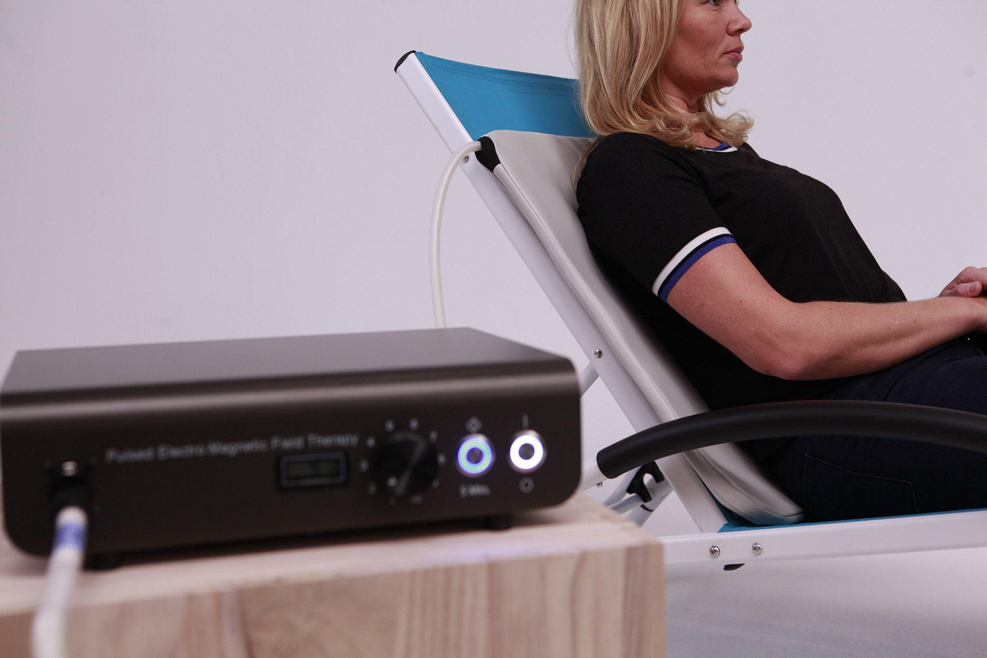 PEMF therapy machine TeslaFit Pro 2 LowBack chiropractic